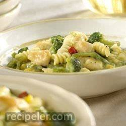 2-Step Creamy Chicken and Pasta