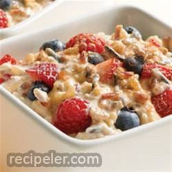 4-Grain Berries and Yogurt