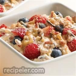 4-Grain Berries and Yogurt