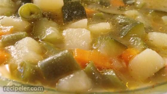 Absolutely Wonderful Chicken Vegetable Soup