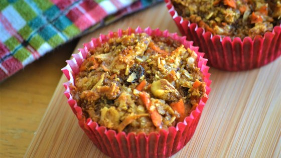 Actually Healthy Morning Glory Muffins