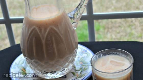 Agua de Melon (Cantaloupe Juice)
