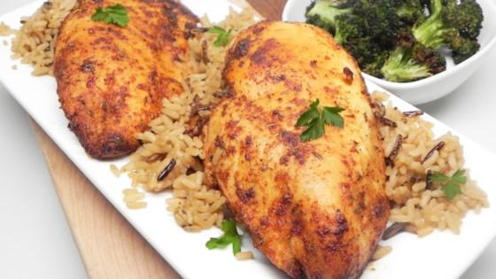 air fryer blackened chicken breast