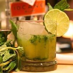 Alcohol-free Mojitos