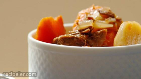 Alison's Slow Cooker Vegetable Beef Soup