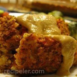 Alissa's Vegetarian Lentil Meatloaf