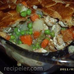 All-Natural Chicken Pot Pie