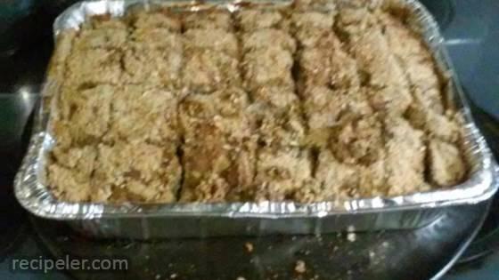 Allie's BL's Thanksgiving or Celebration Ground Turkey Meatloaf