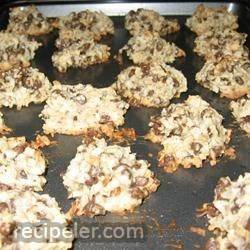 Almond Chocolate Coconut Cookies