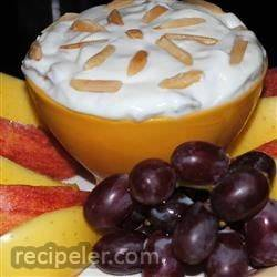 Almond Sour Cream Dip