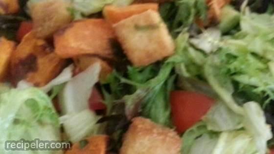 Amazing Crunchy Tofu Salad