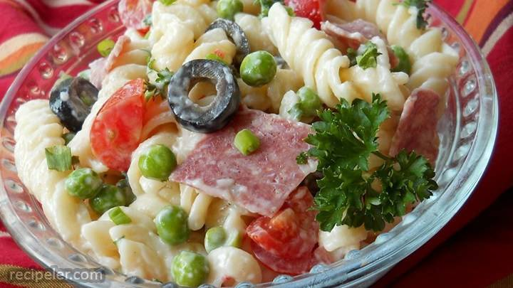 American-talian Pasta Salad