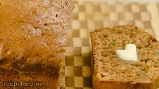 Andy's Jalapeno Zucchini Bread