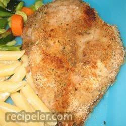 Angela's Easy Breaded Chicken