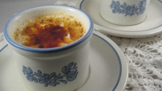 annie's white chocolate-kahlua® creme brulee