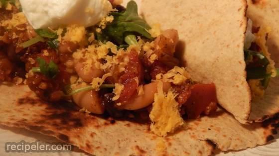 Appetizing Vegetarian Burritos