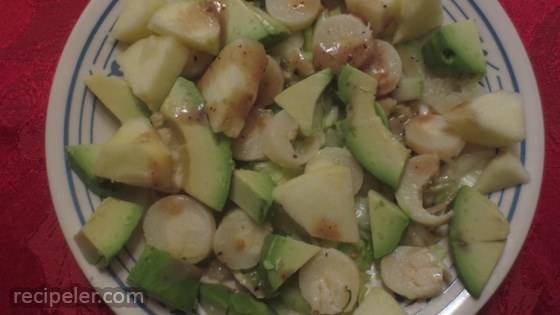 Apple, Avocado and Hearts of Palm Salad