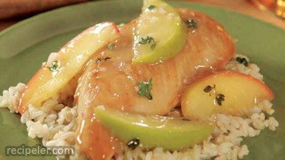 Apple Cider Chicken with Wild Rice