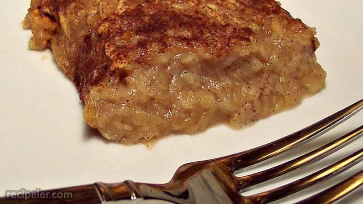 apple-cinnamon farfel kugel