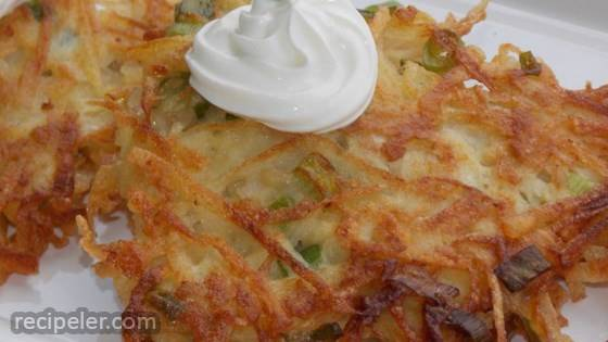 Apple Potato Pancakes