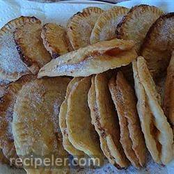 apricot and peach fried pies
