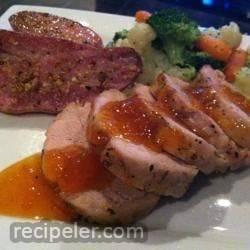 Apricot Pork Tenderloin