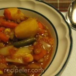 Argentine Lentil Stew