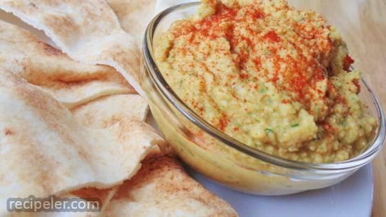 Artichoke Jalapeno Hummus Dip