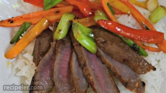 Asian Flair Flat ron Steak