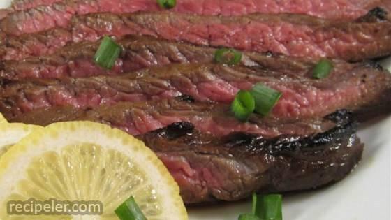 Asian Flat ron Steak
