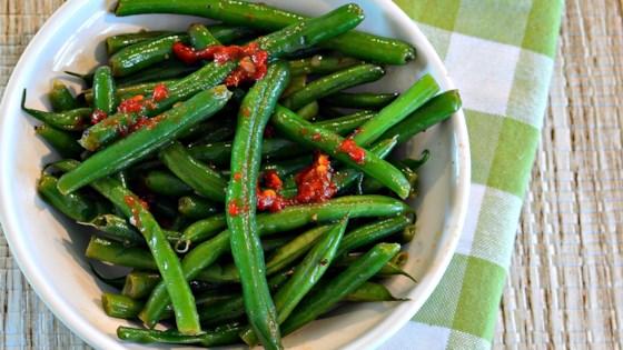 asian-nspired green beans