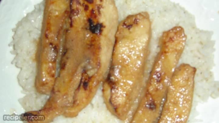 asian-nspired honey-vanilla chicken
