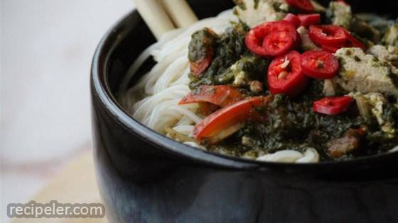 Asian-nspired Vegetable Noodle Bowl
