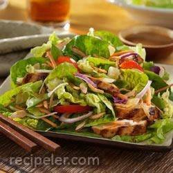 Asian sland Grilled Chicken Salad