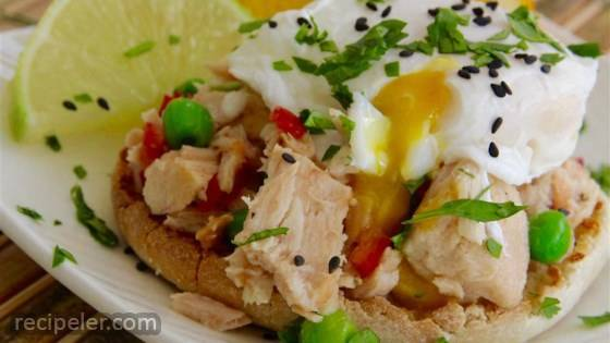 Asian Tuna with Poached Egg