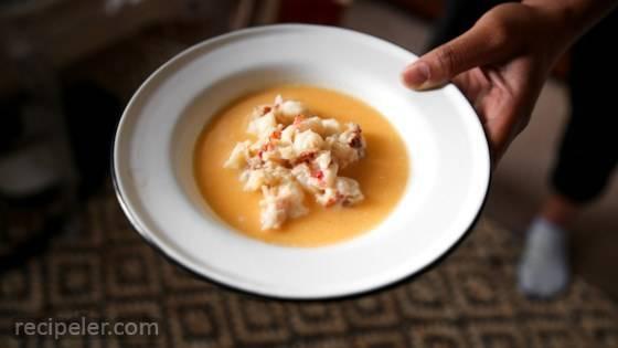 Auntie Anita's Lobster Stew
