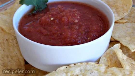 Authentic Mexican Restaurant Style Salsa