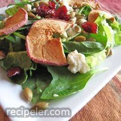 Autumn Apple Pepita Salad