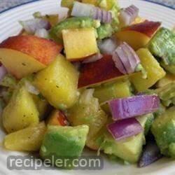 Avocado and Fruit Salad