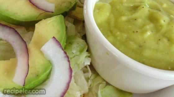Avocado Salad with Avocado-Lime Vinaigrette