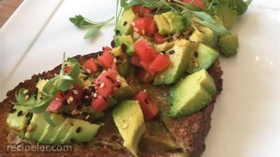 Avocado Toast with Pickled Radishes