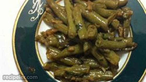 Awesome Green Beans with Kale