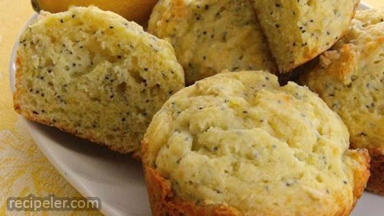 Babs' Lemon Poppy Seed Muffins
