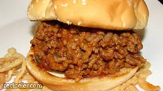 Bachelor Sloppy Joes
