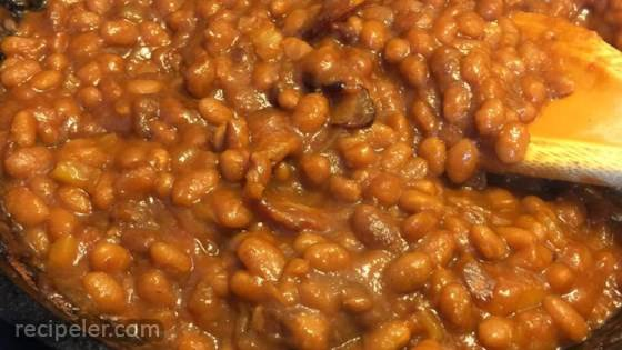 how to cook baked beans in the oven