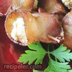 Bacon Olive Wraps