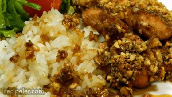 Baked Bourbon and Brown Sugar Salmon Nuggets