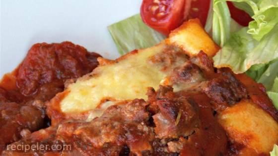 Baked Eggplant Alla Romana