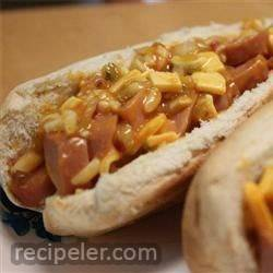 Baked Hot Dog Sandwiches