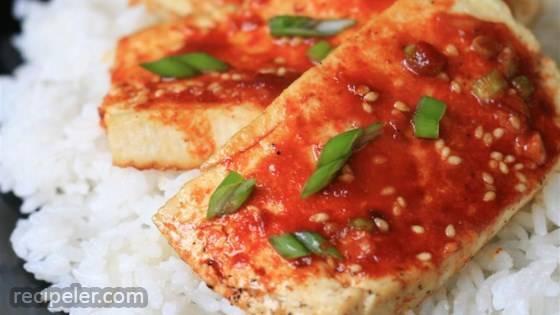 Baked Tofu Slices
